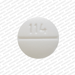 30 MG. Color: White